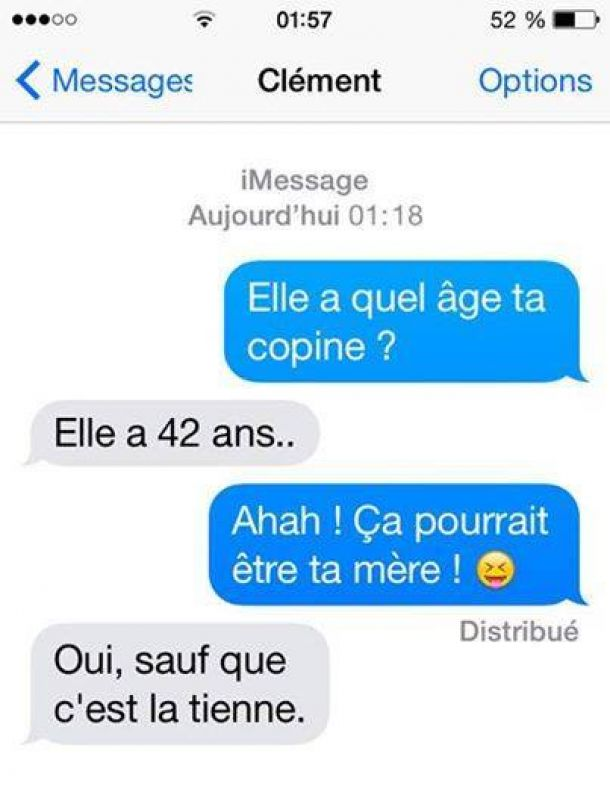 mere perles des sms