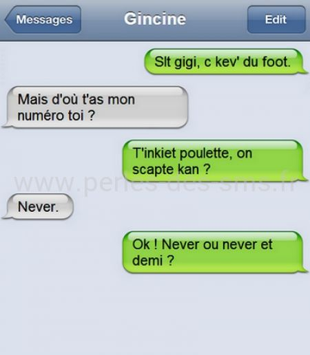 drague never 9h perles des sms