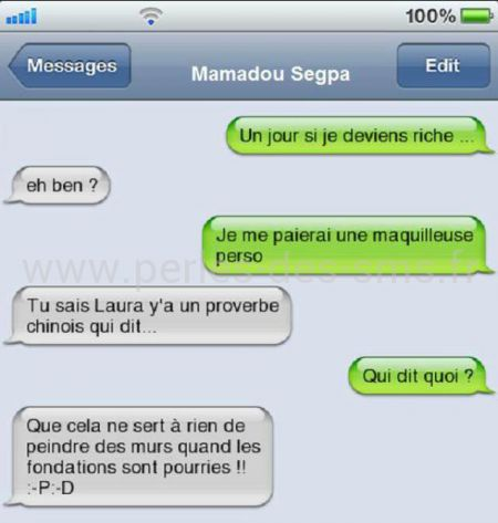 riche maquillage proverbe chinois perles-des-sms.fr