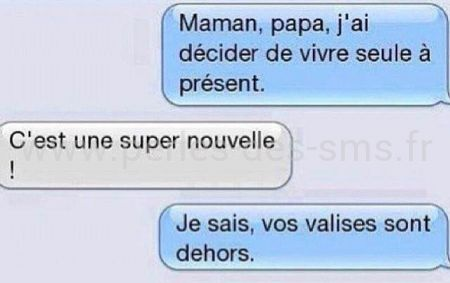 valise parents maison perles des sms
